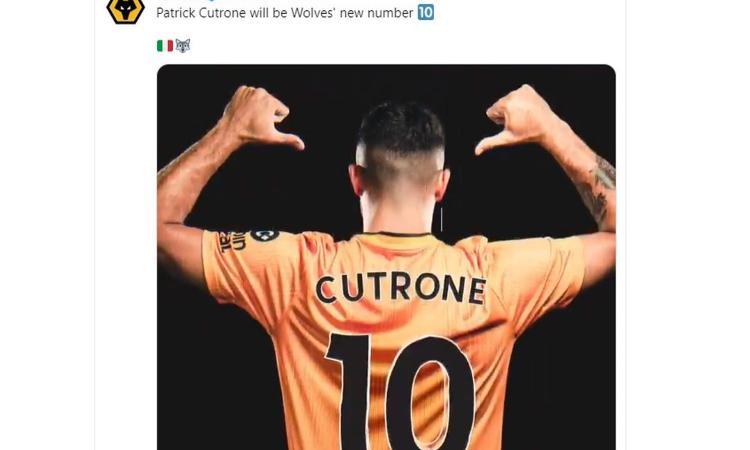 Europa League, i Wolves avanti con Cutrone: ora il Toro. Ok anche Psv ed Eintracht