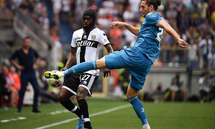 Parma-Juve, le pagelle di CM: super Douglas Costa, rimandato Rabiot