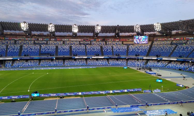 Napoli, finalmente un San Paolo pieno tra Samp e Liverpool