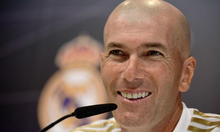 Juve: Zidane medita una beffa e spunta un summit