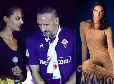 Firenze pazza di Ribery, ma anche della traduttrice Alessia: 'Sei bellissima' FOTO