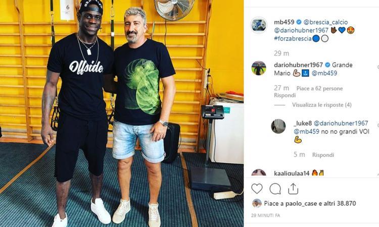 Hubner a CM: 'Balotelli nuovo Tatanka di Brescia. Ha messo la testa a posto, dia tutto e riconquisterà l'Italia'