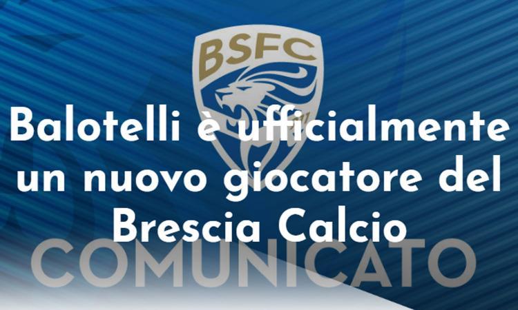 Brescia, UFFICIALE: colpo Balotelli!