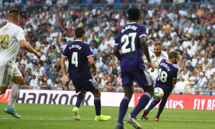 Liga, Real Madrid-Valladolid 1-1: gli highlights