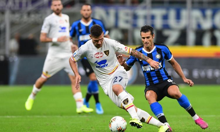 Milan-Lecce: Calderoni in gol senza crederci VIDEO