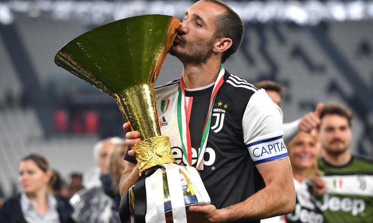 Juve, Chiellini: 'Inter e Napoli non si nascondano più, ora devono vincere'