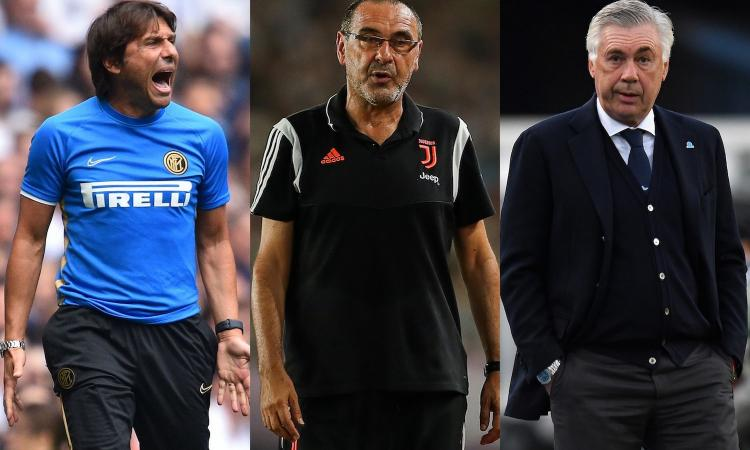 Juve incartata, Inter rinnovata, Napoli rodato: pregi e difetti delle tre big in corsa per lo scudetto