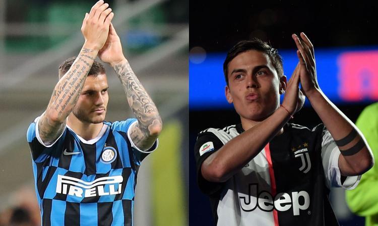 Serie A, cosa manca/2: l'Inter aspetta Dzeko, la Juve Icardi. E Dybala...