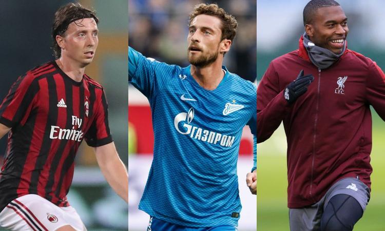 Da Montolivo e Marchisio a Sturridge: tutte le occasioni tra gli svincolati