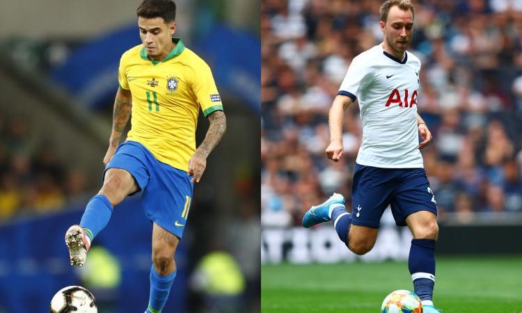Mercato Premier, -2 alla fine: da Coutinho a Eriksen, tutte le trattative last minute