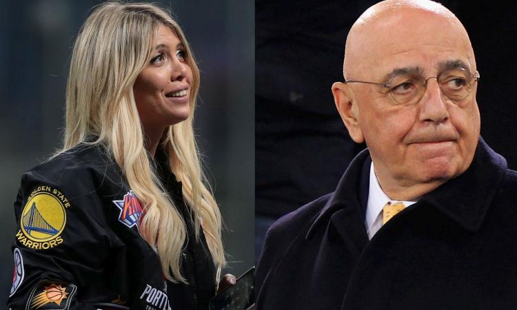 Galliani sbaglia a difendere Wanda: non ha gestito bene Icardi, chi la critica non è maschilista
