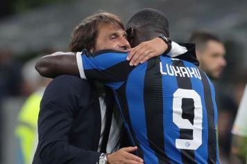 conte, inter, 2019/20, abbraccia, lukaku