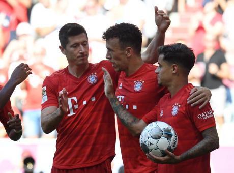 Bayern Monaco-Stella Rossa, le formazioni ufficiali: Perisic e Coutinho dal 1'
