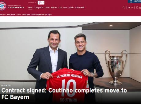 Barcellona, UFFICIALE: Coutinho al Bayern Monaco. Ecco le cifre