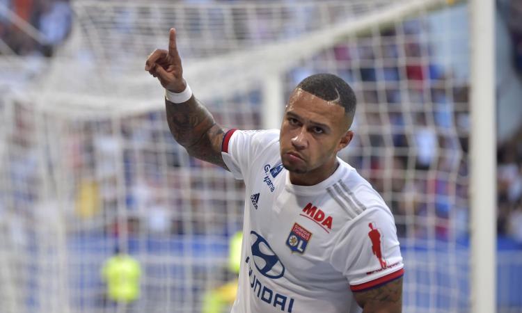 Ligue 1: Depay non basta al Lione, 1-1 con il Bordeaux, vincono Tolosa e Nimes