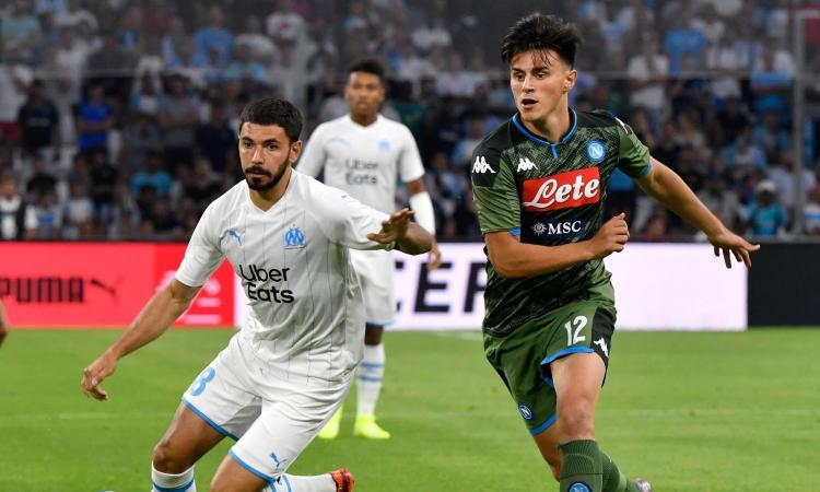 Il Napoli vince anche a Marsiglia, decide Mertens: Ancelotti scopre Elmas, schiaffo di Payet a Insigne