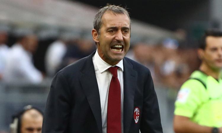 Milan, Giampaolo: 'Derby gara della svolta, gioca Conti. Paquetà? Non voglio giocatori nervosi. Su Sensi...'