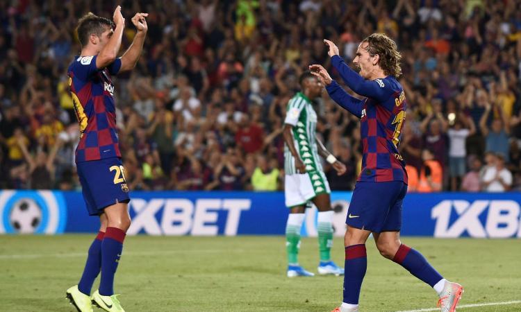 Liga: vince l'Atletico, Barcellona a valanga sul Betis, in gol anche Vidal