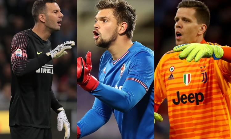 Non solo Handanovic e Szczesny: con Dragowski e Pau Lopez i portieri italiani sono in minoranza