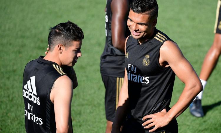 Real Madrid, James Rodriguez titolare contro il Valladolid