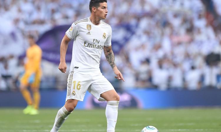Real Madrid, Zidane: 'Contento di James'