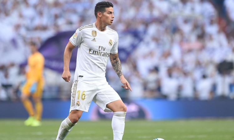 Napoli, James felice a Madrid