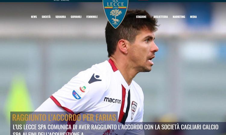 Lecce, Farias: 'Finalmente il gol, lo abbiamo cercato molto' VIDEO
