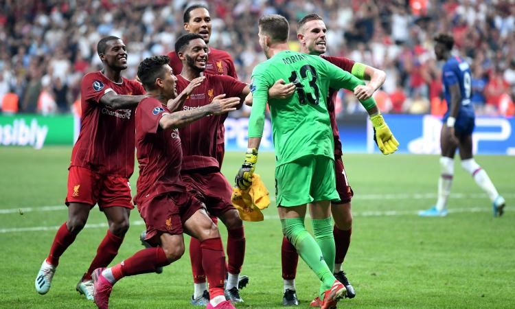 Il Liverpool vince la Supercoppa europea: i complimenti della Juve