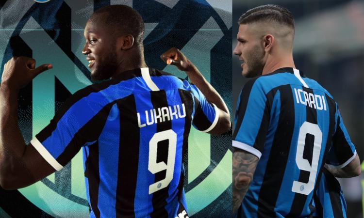 Inter, Icardi è il passato: la Curva Nord regala la maglia a Lukaku FOTO