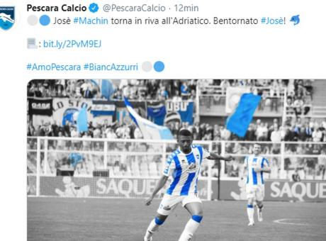 Convocati Pescara: tornano Kastanos e Ciofani