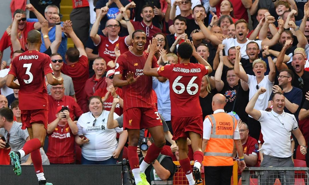 """Il Liverpool come nell'anno dello """"Scudetto"""""""
