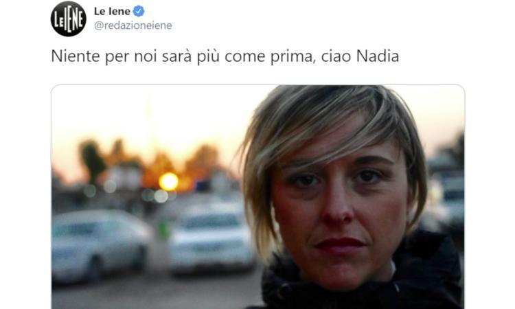 Ciao Nadia, dolce guerriera per la verità e la giustizia