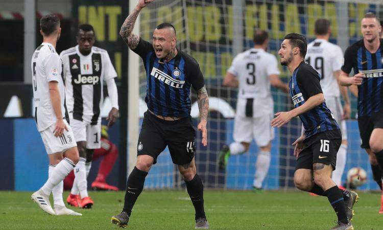 Intermania: in Champions davanti alla Roma grazie a Nainggolan, l'anti-Juve