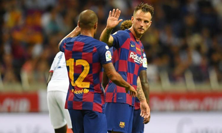 Inter, Vidal e Rakitic lasciati fuori dal Barcellona: segnale chiaro