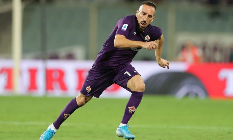 Fiorentina, Ribery da record