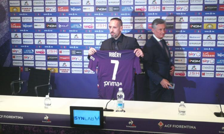 Fiorentina, Ribery: 'Obiettivo prime tre. Voglio aiutare Chiesa, con il Napoli...'