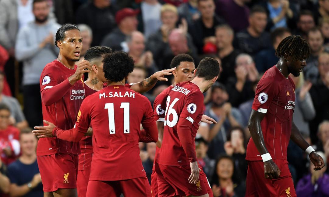 Liverpool strapazza il Norwich: 900 mln di differenza
