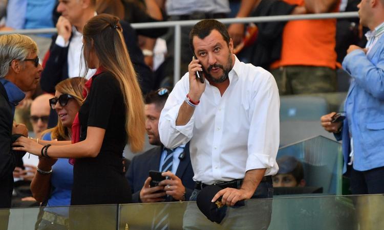 Salvini: 'La Lega vince le elezioni in Umbria e il Milan torna in Champions'