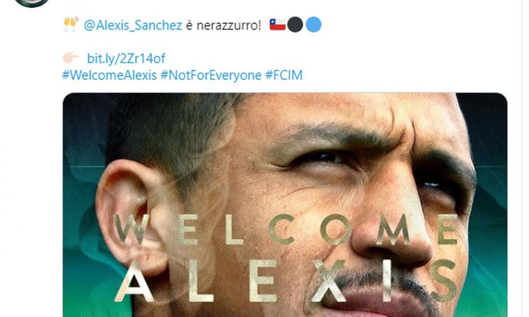 Inter, ecco il colpo in attacco: Alexis Sanchez!