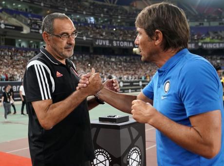 Conte è il motore dell'Inter, ma la Juve di Sarri resta avanti