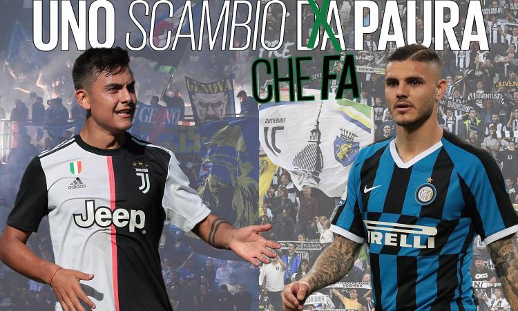 Juve-Inter: lo scambio Dybala-Icardi conviene a tutti, ma hanno paura di farlo