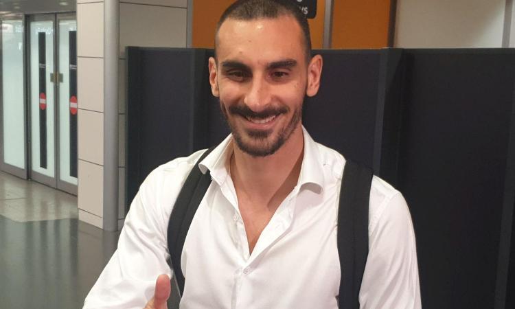 Roma, è arrivato Zappacosta: 'L'Italia mi è mancata, felice di ripartire da qui'. Oggi le visite mediche