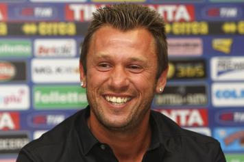 Antonio.Cassano.sorriso.conferenza.stampa.jpg GETTY IMAGES