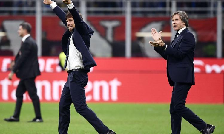 Conte, un derby vinto per cancellare la Juve: 'Sono e sarò per sempre un tifoso dell'Inter'