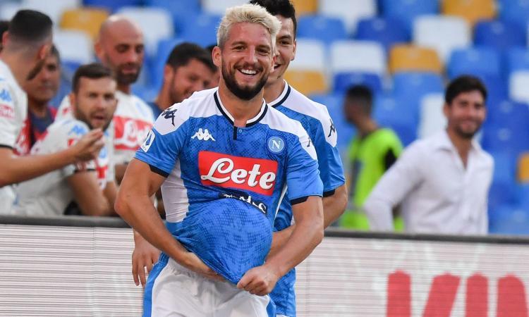 Napoli, le pagelle di CM: super Mertens, Elmas e Fabian al top