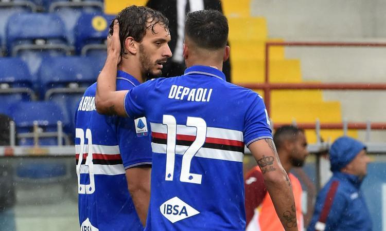 Sampdoria, Gabbiadini: 'Che emozione tornare al gol' VIDEO