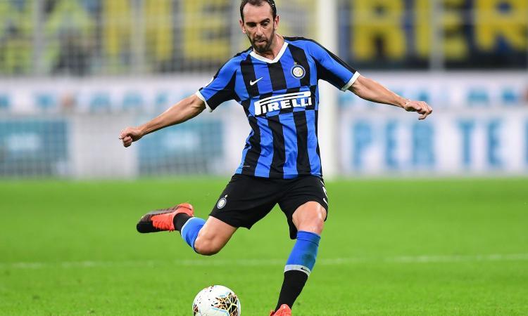 Inter, Godin già in gruppo con l'Uruguay
