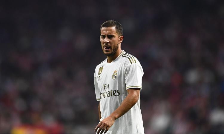 Real Madrid, infortunio Hazard: ci sarà per il Clasico