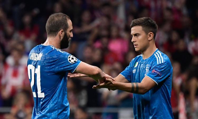 Due diapositive da Madrid: ecco perché con Sarri gioca Higuain e non Dybala
