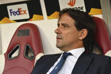 Inzaghi Lazio concentrato